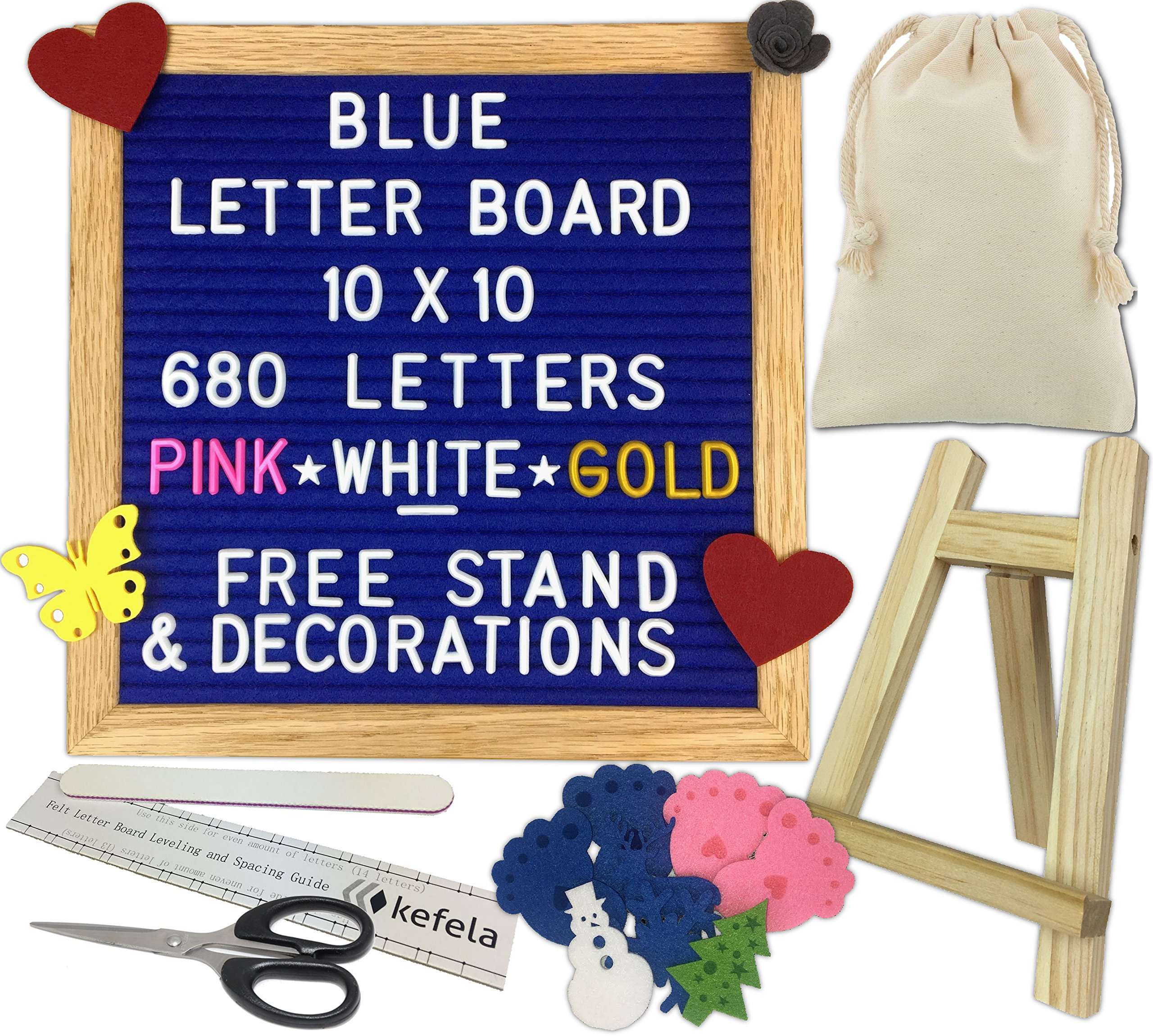Office & School Supplies Honest Letter Message Board Oak Frame White Letters Symbols Numbers Characters Bag Letter Board Stationery Supplies Presentation Boards