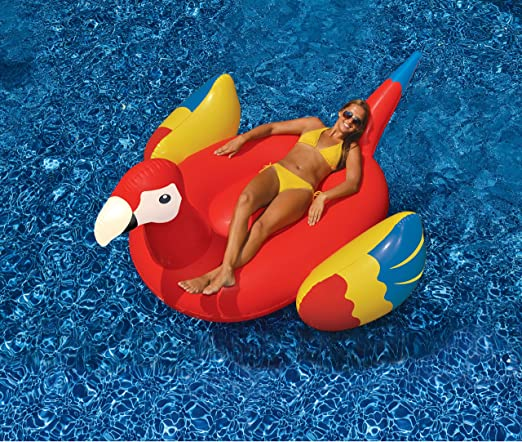 Amazon.com: Loro gigante inflable de juguete para alberca ...