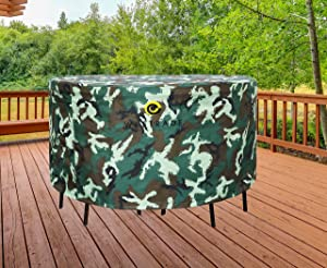 WJ eTrade Round Patio Table and Chairs Cover 84