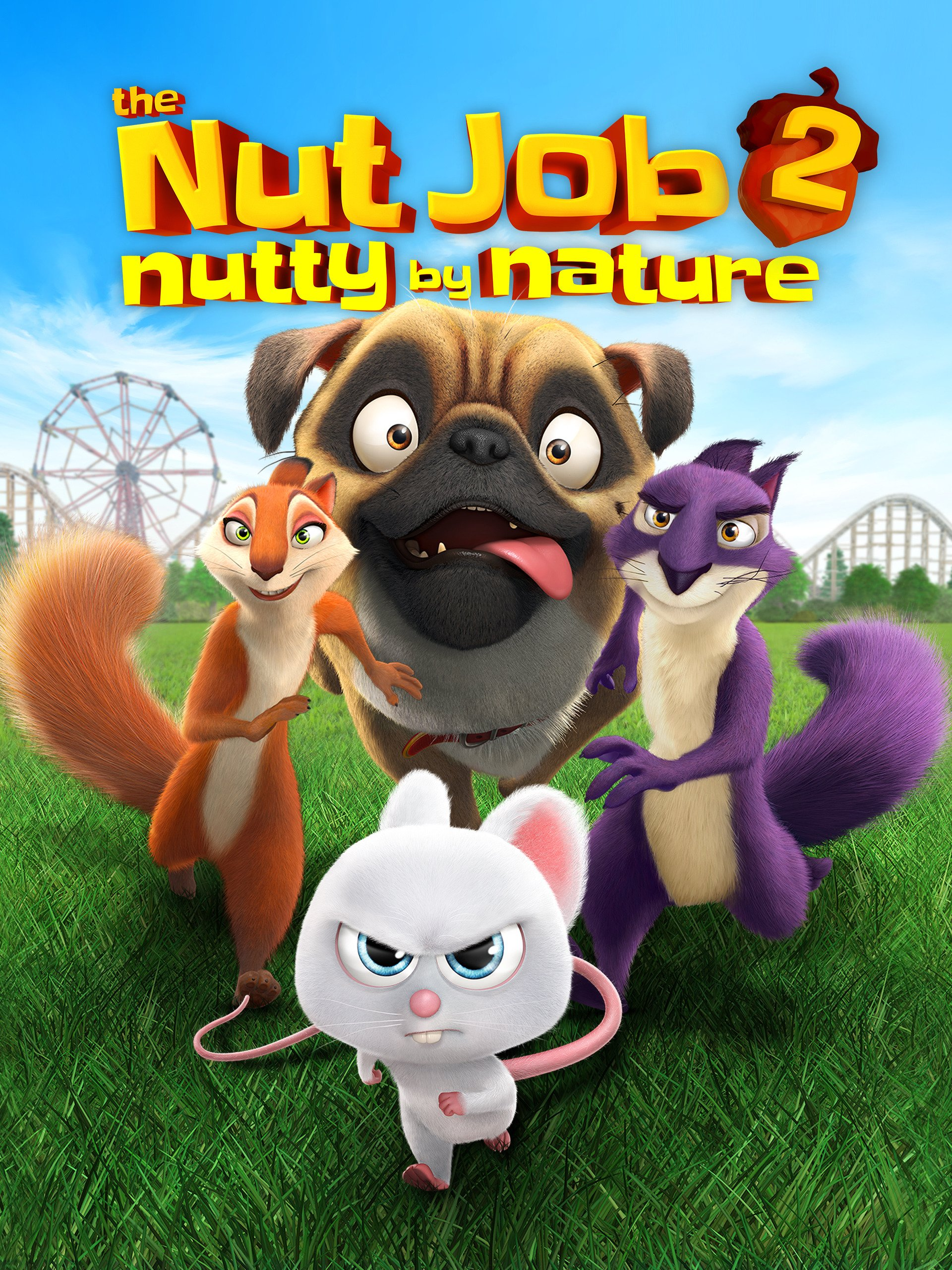 Amazon.com: The Nut Job 2: Nutty by Nature: Will Arnett, Maya ...