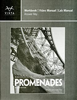 Promenades workbookvideo manu vhl 9781618570178 amazon books promenades 2nd answer key for workbookvideo and lab manual fandeluxe Images