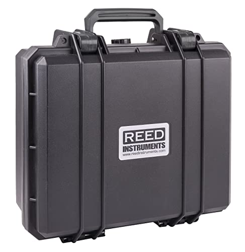 REED Instruments R8890 Deluxe Hard Carrying Case, 15.7 x 12.6 x 6.7