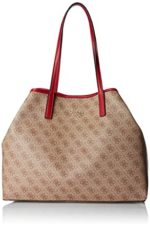 1134ca813c Amazon.com  GUESS Vikky Classic Logo Large Tote