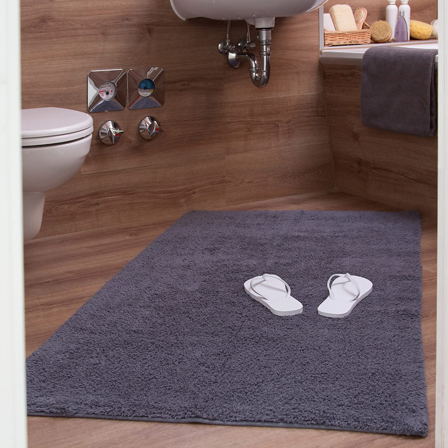 gorgeous slip gray mats designs and mat bathroom neat floor sets improvement beautiful perfect photos design ideas bath non rug heated rugs grey amazon home