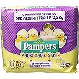 Pampers Progressi Pannolini Micro, Taglia 0 (1-2.5 kg), 24 Pannolini