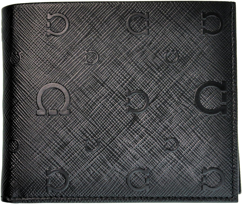 Ferragamo 【フェラガモ】 レザー オープン開閉式二つ折り財布 66-9296 /01 NERO ブラック 黒 B00CR73A5Q