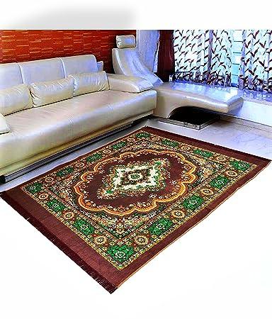 """Warmland Premium Washable Anti-Allergic Polycotton Carpet - 55""""x80"""",Multicolor Carpets at amazon"""