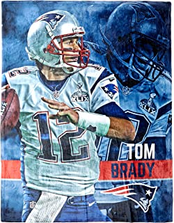 f82e2a911c5 The Northwest Company Officially Licensed NFL New England Patriots Tom  Brady Silk Touch Throw Blanket