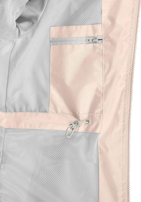 BlendShe Briddi Chaqueta De Entretiempo Cortavientos Impermeable para Mujer con Capucha: Amazon.es: Ropa y accesorios