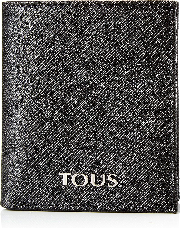 Tous Billetera S. New Berlin, Bolsa y Cartera para Hombre, Negro (Negro), 9x10x1.5 cm (W x H x L)