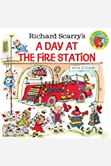 Richard Scarry's A Day at the Fire Station (Pictureback(R)) Paperback