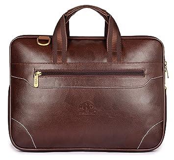 6eb40d23c The Clownfish Monarch 15.6 Inch Faux Leather Laptop Bags, Laptop Bags for  Men, Laptop