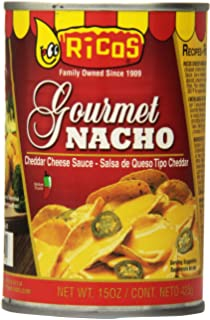 Ricos Gourmet Cheddar Nacho Cheese Sauce, 15 oz