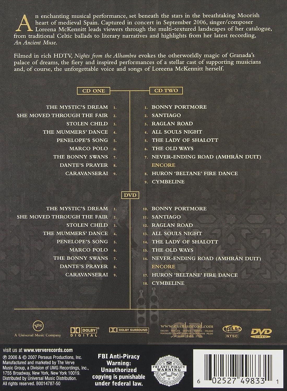 amazon com nights from the alhambra loreena mckennitt movies u0026 tv