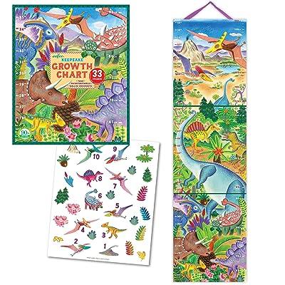 eeBoo Grow Like a Dinosaur Height Growth Chart for Boys: Toys & Games