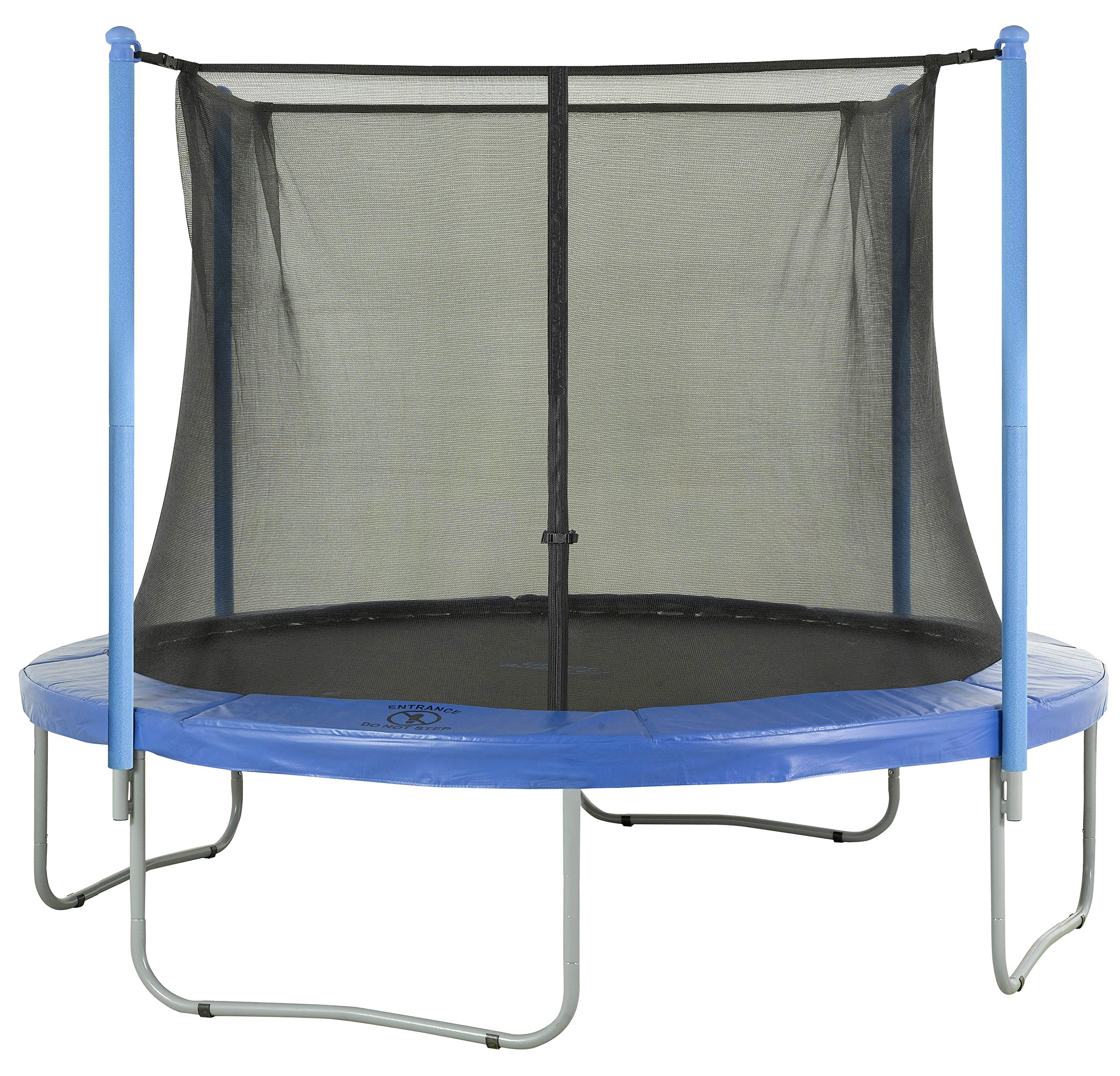 Upper Bounce Trampoline Replacement Enclosure Net, Fits for 14 FT. Round Frames, with Adjustable Straps, Using 4 Poles or 2 Arches - Net Only by Upper Bounce (Image #6)
