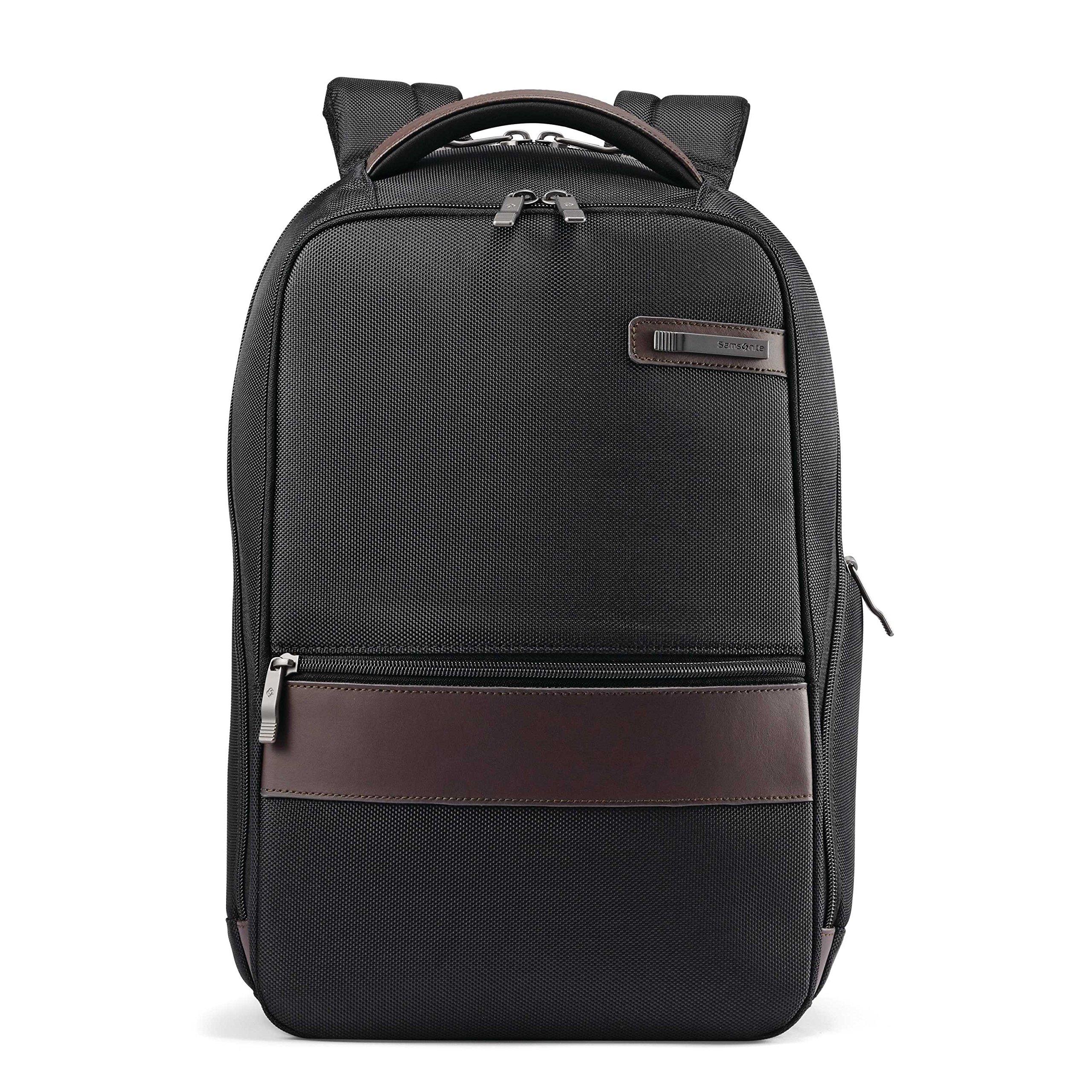 Samsonite Komni Small Backpack, Black/Brown, One Size by Samsonite (Image #2)