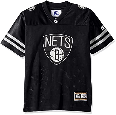 97c421623 Amazon.com   STARTER NBA Men s Heritage Football Jersey   Sports ...
