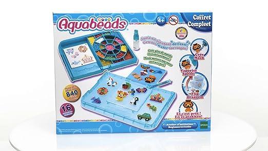 Aquabeads 31386 - Taller de perlas, infantil , color, modelo surtido: Amazon.es: Juguetes y juegos