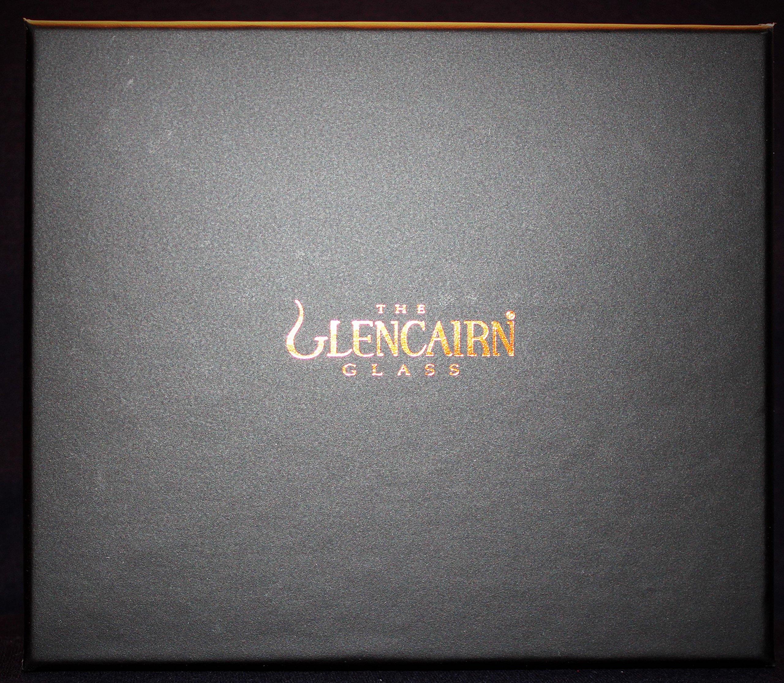 The Glencairn Diamond Cut Two Glass Boxed Set