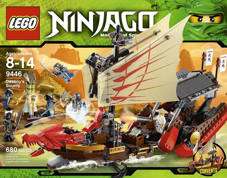 Amazon.com: LEGO Ninjago Destiny s Bounty 9446: Toys & Games