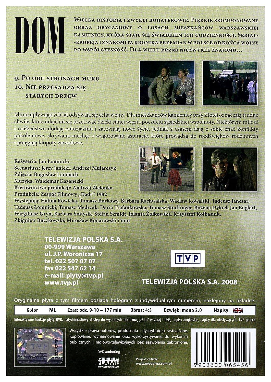 Amazon.com: Dom Część 5 Odcinek 9-10 [DVD] (English ...