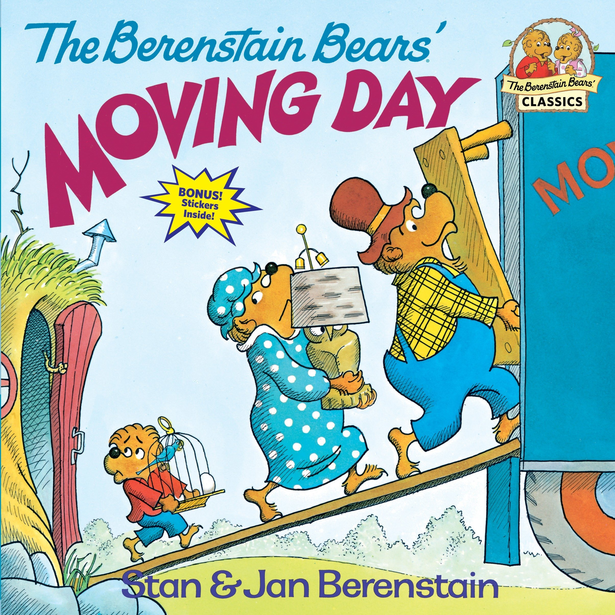 The Berenstain Bears\' Moving Day: Stan Berenstain, Jan Berenstain ...