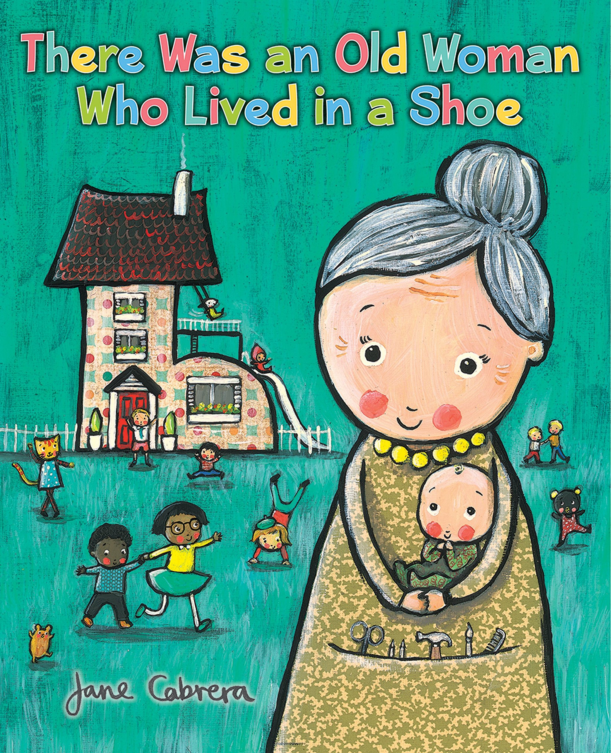68188fbadabd Amazon.com: There Was an Old Woman Who Lived in a Shoe ...