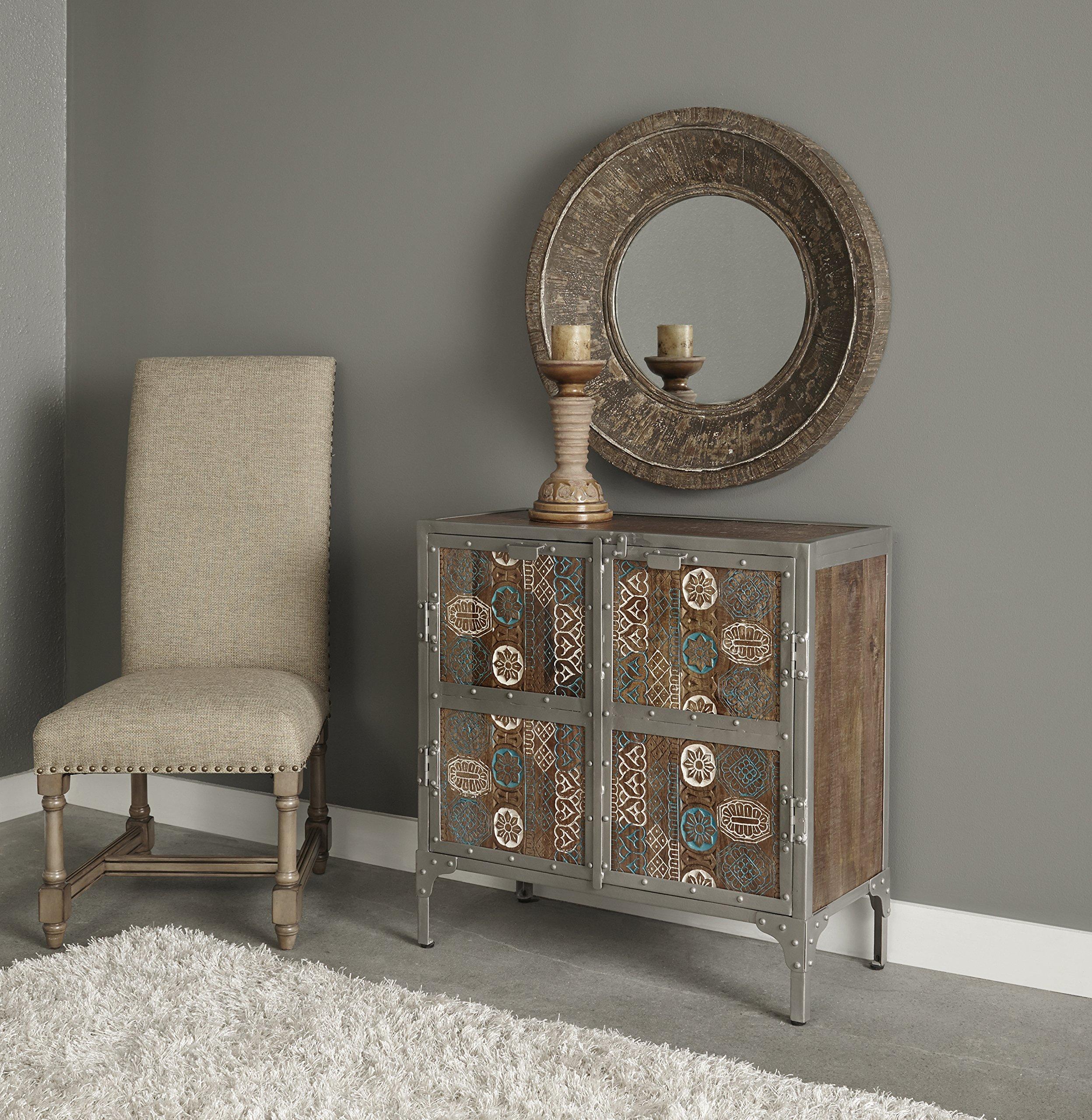 Treasure Trove Accents 17662 Two Door Cabinet, Multicolored by Treasure Trove Accents (Image #3)