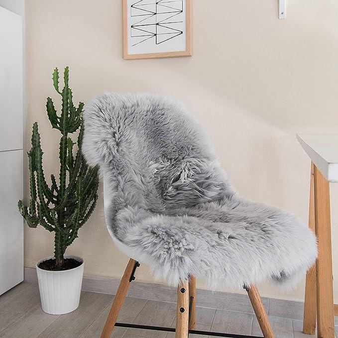 Origins Luxury Australian Merino Sheepskin Rug Quad in Natural.