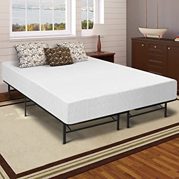 best price mattress 12 memory foam mattress and bed frame set queen - Queen Bed Frame And Mattress Set
