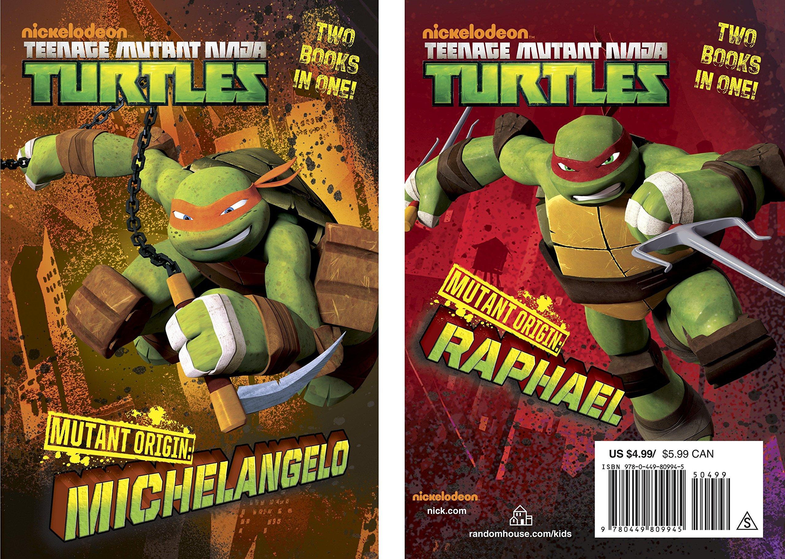 Amazon.com: Mutant Origin: Michelangelo/Raphael (Teenage ...