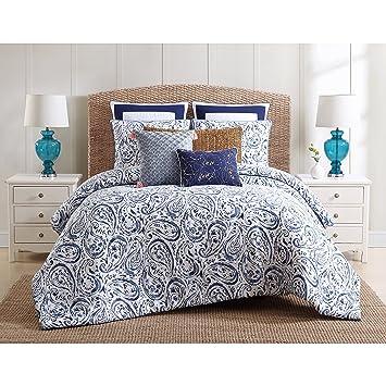 amazon com 3 piece watercolor paisley pattern duvet cover set king rh amazon com