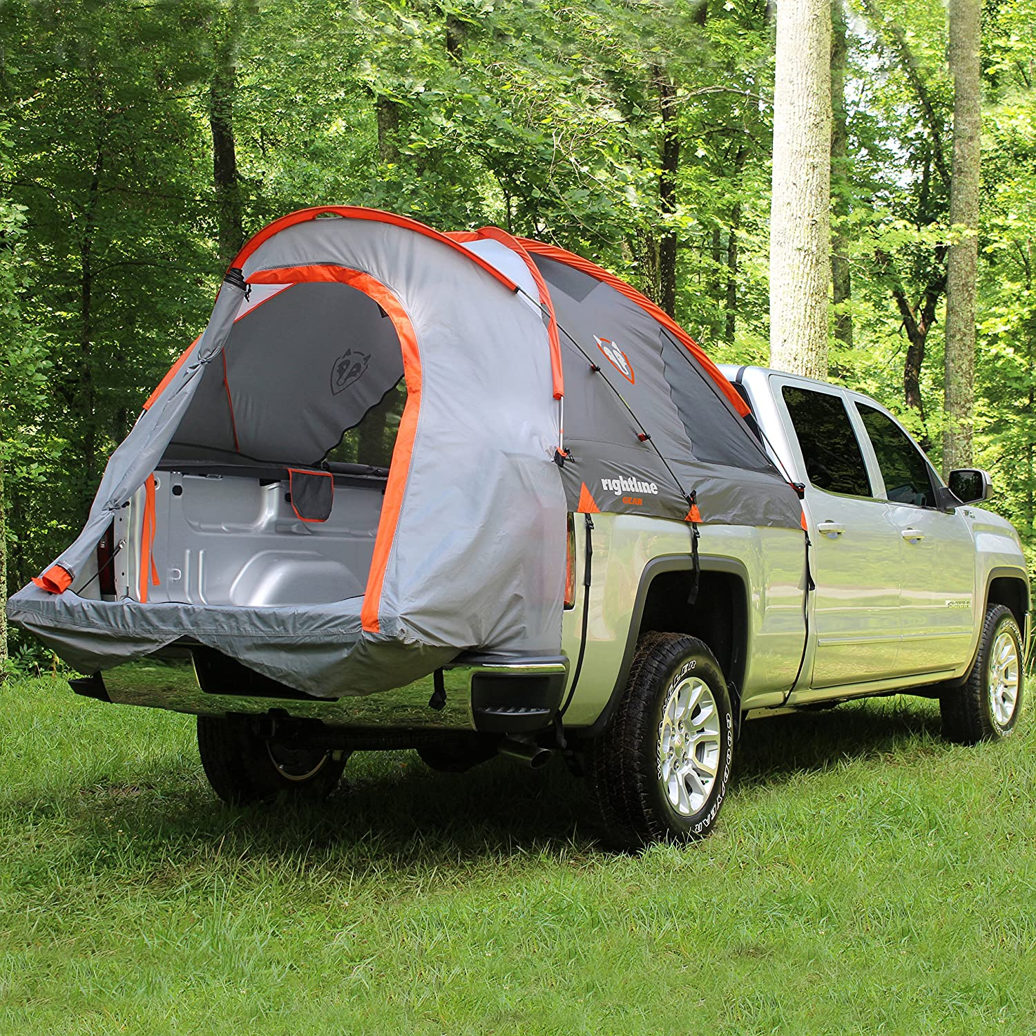 Amazon.com Rightline Gear 110730 Full-Size Standard Truck Bed Tent 6.5u0027 Automotive & Amazon.com: Rightline Gear 110730 Full-Size Standard Truck Bed ...