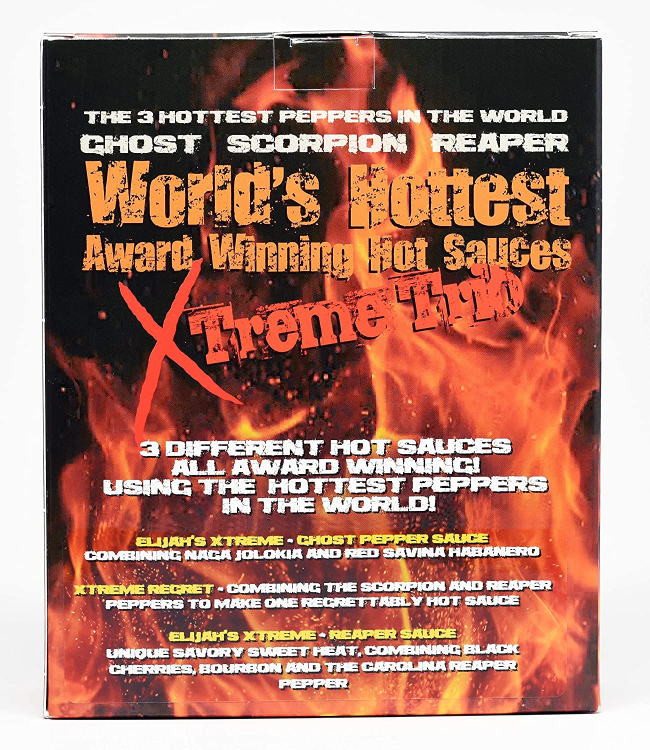 Amazon.com   Worlds Hottest Award Winning Hot Sauces Xtreme Trio Includes  Ghost Pepper dcedd8e846a