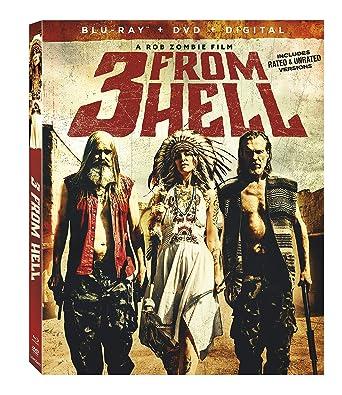 Amazon.com: Three From Hell [Blu-ray]: Sheri Moon Zombie ...