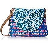 Kanvas Katha Women's Sling Bag (White) (KKPUS/PT/002)