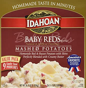 amazon com idahoan baby reds gluten free instant mashed potatoes