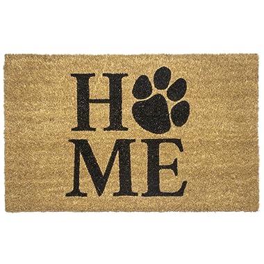 Entryways Pet Home Non- Slip Coconut Fiber Doormat 17  X 28  X .5