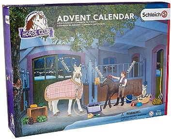 Weihnachtskalender Schleich Pferde.Schleich 97151 Adventskalender Pferde