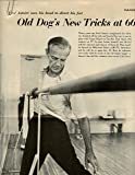 Fred Astaire original 3pg 9x12 clipping magazine