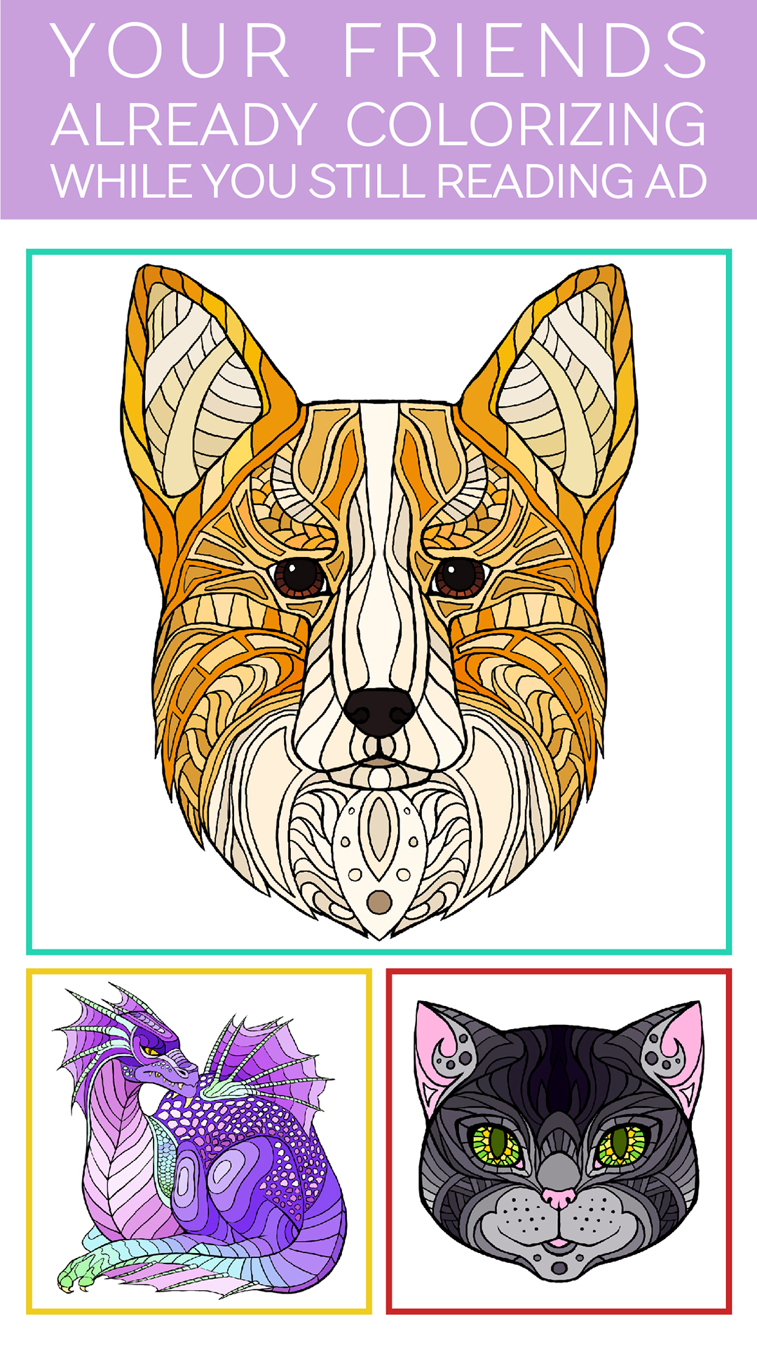 ... Colorfly : Coloring Book for Adults - Free Games screenshot ...