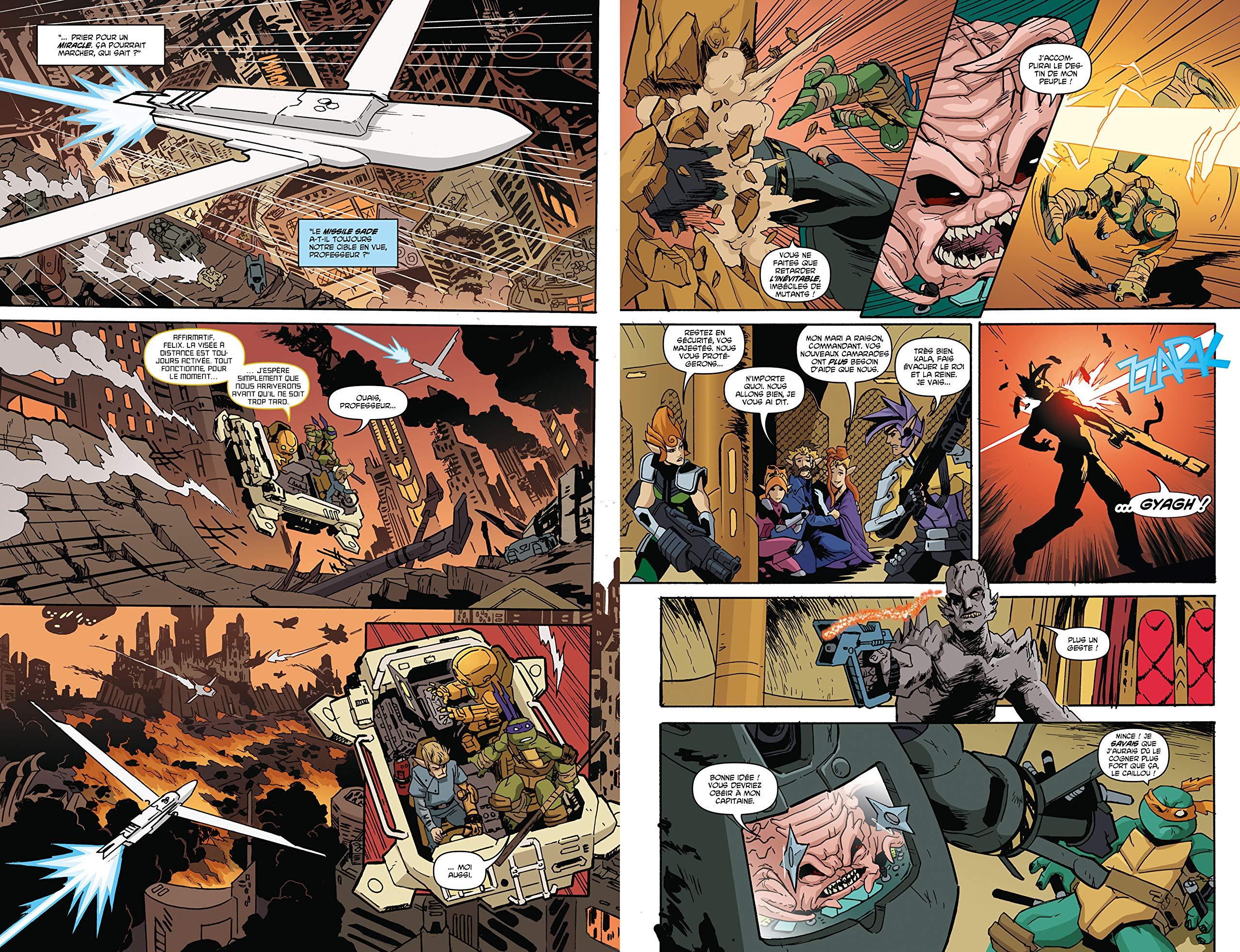 Les Tortues ninja - TMNT, T1 : La Guerre de Krang HiComics ...