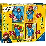 Ravensburger 6893 Paddington Bear 4 in a box Jigsaw Puzzles - 12, 16, 20 and 24 Pieces