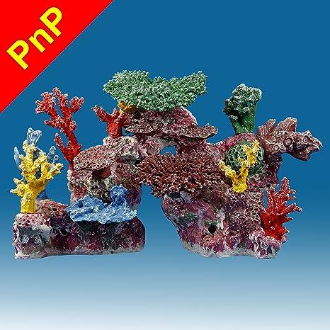 amazon com instant reef dm046pnp artificial coral reef aquarium