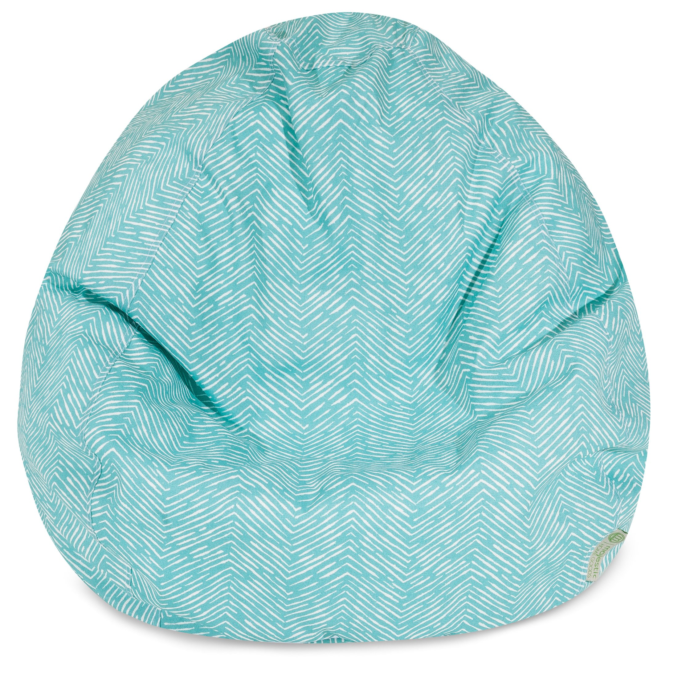 Majestic Home Goods Navajo Classic Bean Bag, Small, Teal