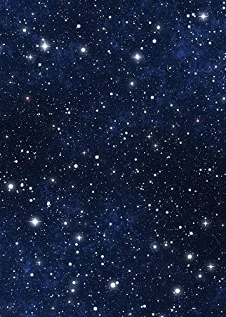 Amazon Com Star Sky Backdrop Blue Night Sky Astronomy Galaxy Universe Student School Shiny Star Printed Fabric Photography Background G
