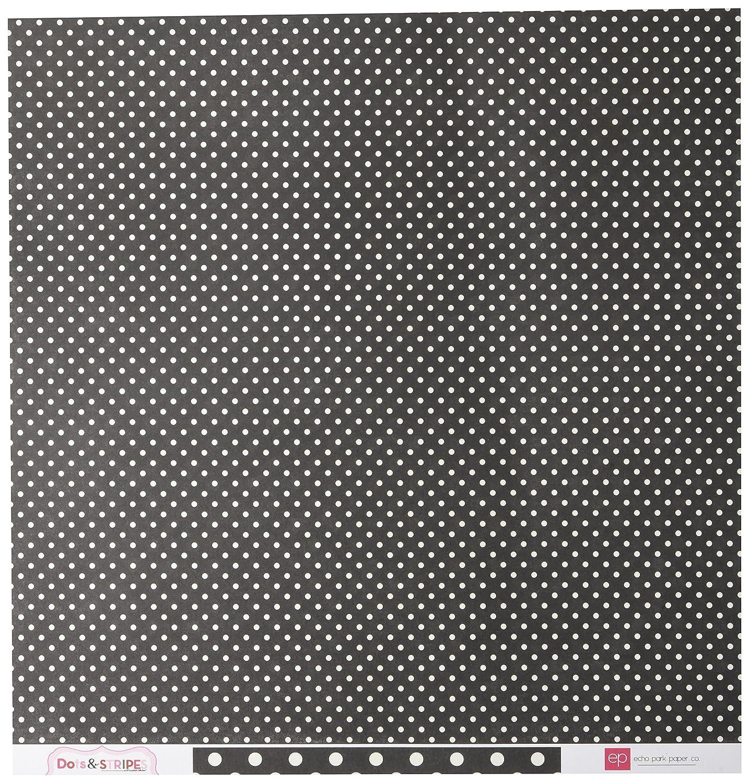 Echo Park Paper Company Valentinstagsset mit Punkten und Streifen