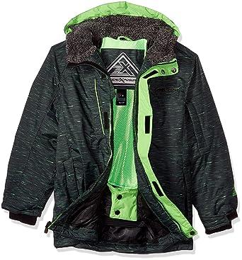 eea532d13 Amazon.com  ZeroXposur Boys Squad Snowboard Jacket  Clothing