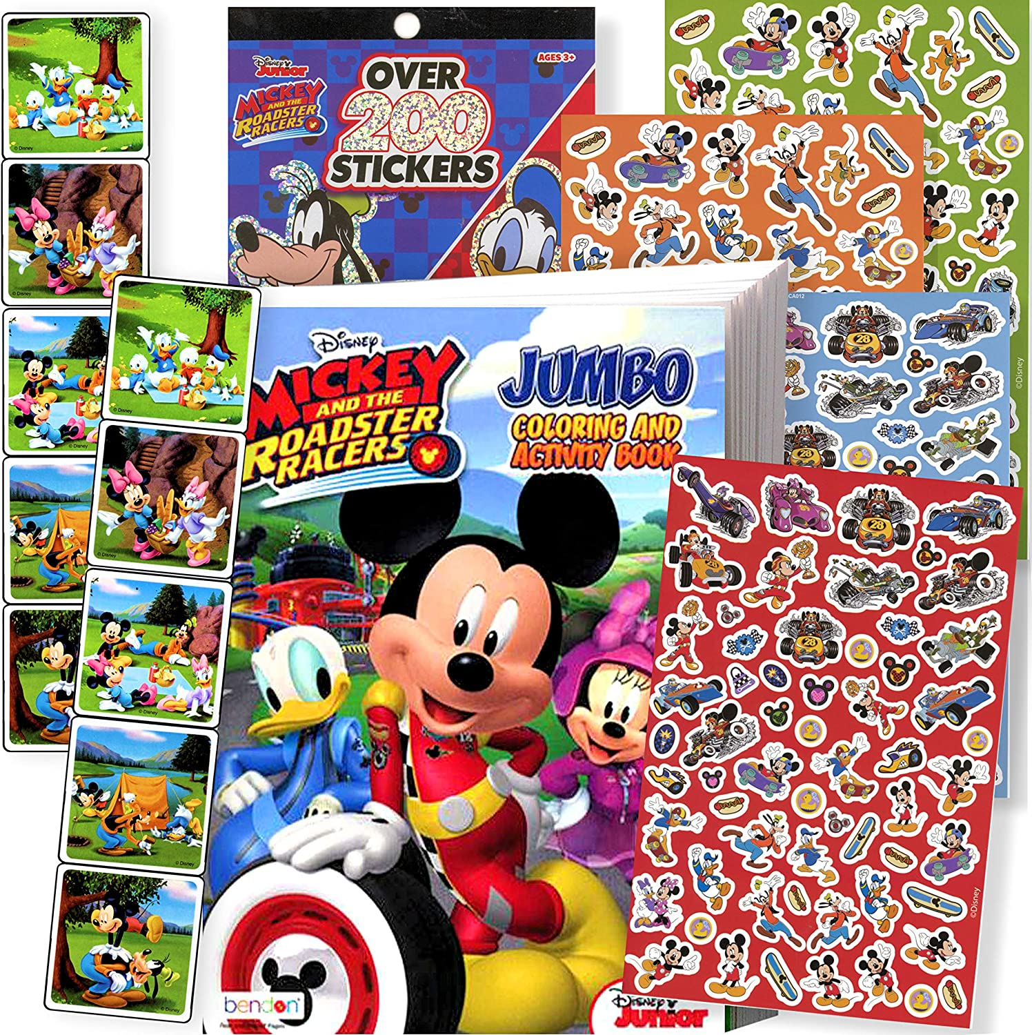 Colouring Book 3D Character Crayons Disney MICKEY MOUSE Colouring Set